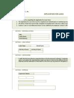 Application Leave Form (Online)
