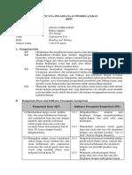 RPP Explanation Text Lengkap
