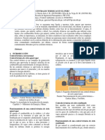 Centrales Termicas en El Peru