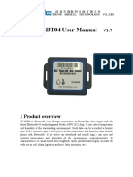 TZ BT04 User's Manual V1.7