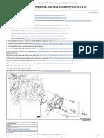 Vacuum Pump Removal_installation [Skyactiv-d 2.2]