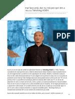 Dilemaveche.ro-pot Să Încetez a Mai Face Artă Dar Nu Mă Pot Opri Din a Gîndi Liber Interviu Cu Tehching HSIEH