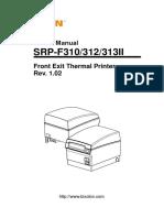 Manual SRP-F310312313II User English Rev 1 02