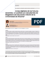 Las competencias digitales de los futuros docentes. Un análisis con estudiantes de Magisterio de Educación Infantil de la Universidad de Alicante1