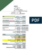Economical Summary for GAL Project Site TCK-JSM v1