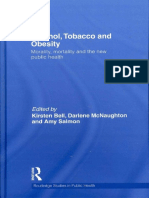 Alcohol Tobacco and Obesity Morality Mor