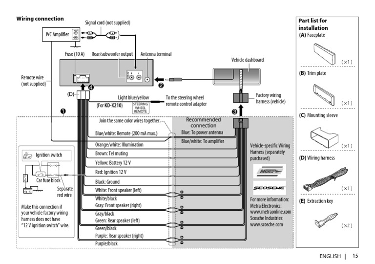Wiring Diagram Kd X110 Pdf Electrical Wiring Motor Vehicle