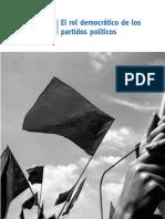 Cap. 2.3. El Rol Democrático de Los Partidos Políticos