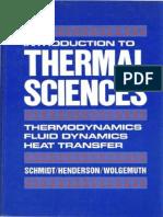 Introduction to Thermal Sciences Thermodynamics Fluid Dynamics Heat Transfer 1984.pdf