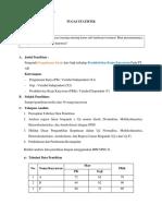 Tugas Statistik (Regresi)