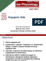 CHAPTER 25 (Ergogenic Aids)