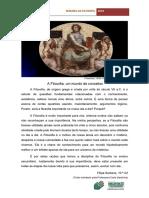A Filosofia, um mundo de conceitos
