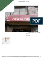 Geraldine Panadería - Google Maps