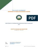 ICT Policies &Amp; Procedure 2017 Ver 1.0