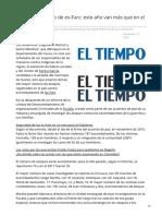 Eltiempo.com-Crece El Asesinato de Ex-Farc Este Año Van Más Que en El 2018