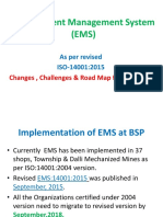 Awareness ISO 14001 2015 Top Mgmt
