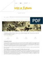 """Didattica Della Linea Gotica_ La Metodologia Del """"Diorama Vivente"""" - Storia e Futuro"""