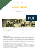 """Didattica della Linea Gotica_ la metodologia del """"diorama vivente"""" - Storia e Futuro.pdf"""
