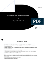 US B1 Visa Process Guidance