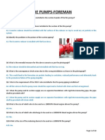 Interview Question and Answers for Fire Pump Foreman