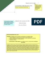 Manual de Estilo de La APA