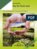 Vaikunthanath Das Kaviraj - Homeopathy for Farm and Garden_ the Homeopathic Treatment of Plants-Narayana (2018)