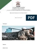 UDM-Análise da Exploração do Carvão Mineral em Moatize