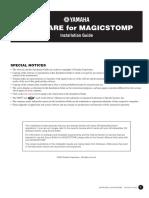 Magicstomp Install
