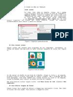 Organizar e remover ícons da área de trabalho