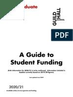 2020-21 PG Funding Guidance
