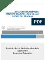 Presentación Estatuto Docente, Ley Nº 19.464 y Código del Trabajo (1).pptx