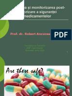 Evaluarea Si Monitorizarea Post-Autorizare a Sigurantei Medicamentelor - Robert Ancuceanu