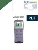 Manual Pce p Series