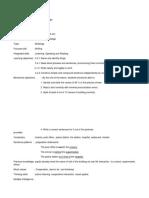 English Lesson Plan Year 5