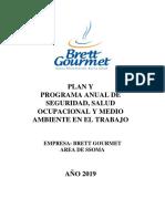 Plan y Programa Ssoma 2019 - Grupo Molitalia