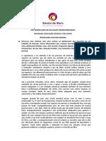 Avaliação Disciplina - Giovana Medina - Tiago Recchia