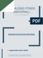 Ponek Maternal PDF