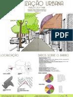 Prancha Revitalização Urbana de Uma Praça de Joinville