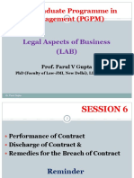 Legal aspect of business