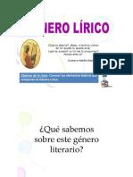 PPT N° 1 GÉNERO LÍRICO