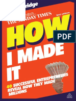 How I Made It Book