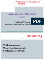 Legal aspects of businesses