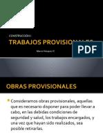 TRABAJOS PROVISIONALES