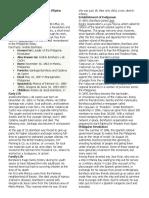 Position paper on Andres Bonifacio