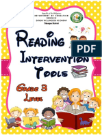 COVERS Reading Intervention Tools