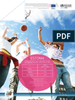 ESTONIA Physical Activity Factsheet