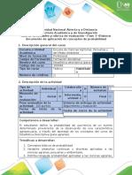 Guía de actividades y rúbrica de evaluación - Fase 3 - Elaborar documento de aplicación de conceptos de probabilidad (1).pdf