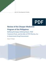 i-Cheaper Medicines Program Review (1).doc