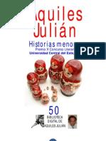 HISTORIAS MENORES, POR AQUILES JULIÁN, REP. DOMINICANA