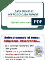 3- Ejemplo METODO CIENTIFICO - Flores Paso a Paso